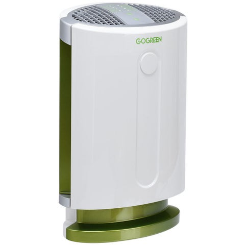 Goplus 3-in-1 Air Purifier HEPA Filter Particle Carbon Filter Odor Allergie Eliminator