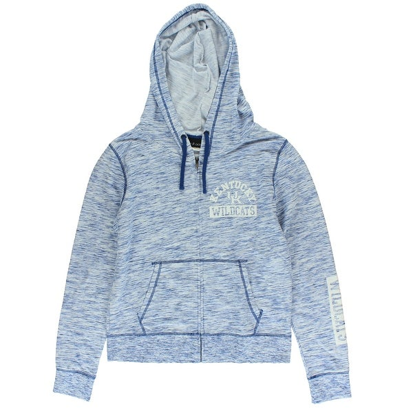 21a353d91fe 5th  amp  Ocean Womens Kentucky Wildcats French Terry Hoodie Heather Blue -  heather blue