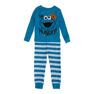 Sesame Street Little Boys Blue Cookie Monster Long Sleeve 2 Pcs Pajama|https://ak1.ostkcdn.com/images/products/is/images/direct/80d39692a4b898b54f1758033fdc6021b58c95a7/Sesame-Street-Little-Boys-Blue-Cookie-Monster-Long-Sleeve-2-Pcs-Pajama-2T-4T.jpg?impolicy=medium