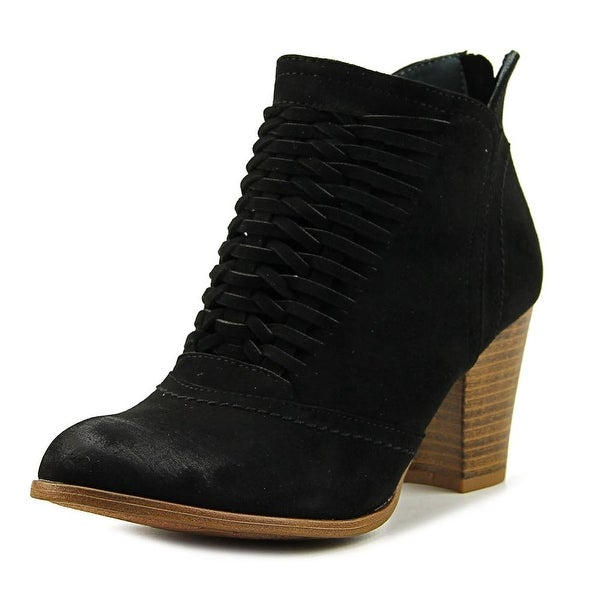 Fergalicious Chelly Women Round Toe Synthetic Black Bootie