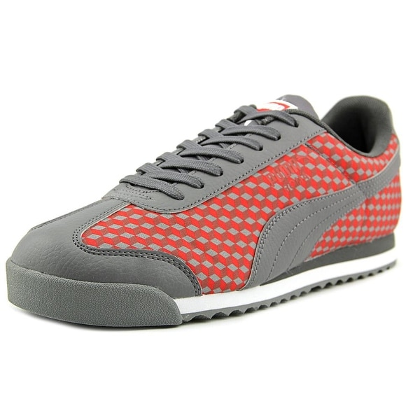 Puma Roma Graphic Geomtric Round Toe Synthetic Sneakers