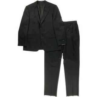 Joseph Abboud Mens Wool Two-Button Suit - 43R