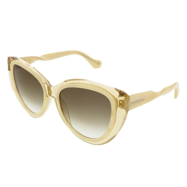 Balenciaga BA0026S 47P Honey/Cream Cat Eye sunglasses - 54-18-140