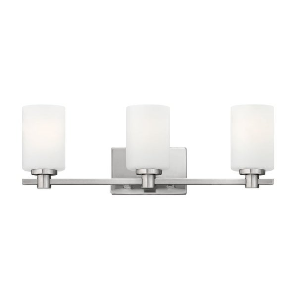 Hinkley Lighting 54623 3-Light Bathroom Fixture from the Karlie Collection - N/A