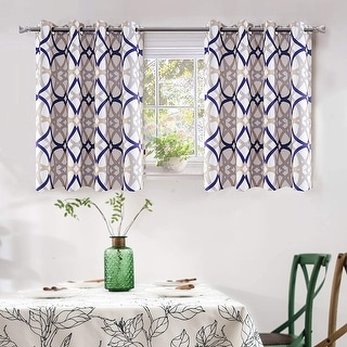 Link to DriftAway Alexander Thermal Blackout Grommet Unlined Window Curtains Similar Items in Window Treatments