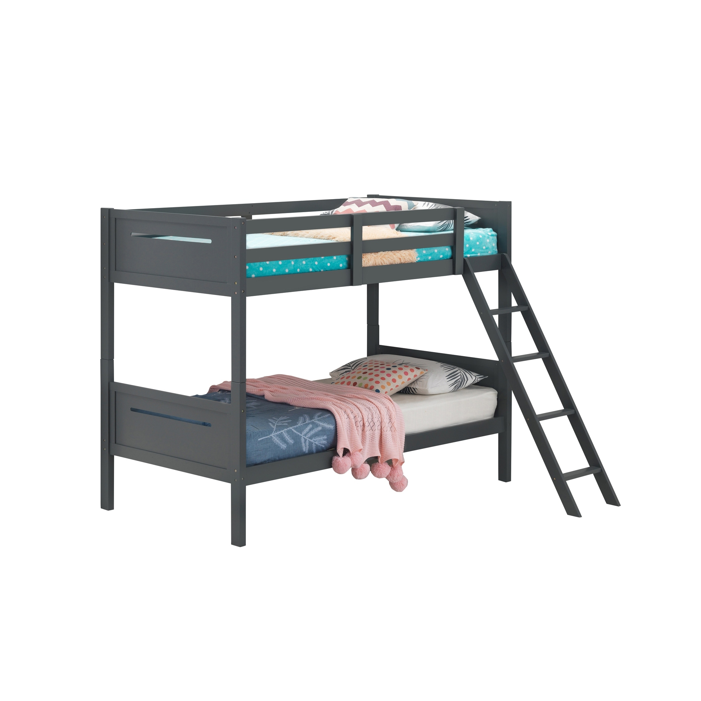 Image result for black twin bunk beds