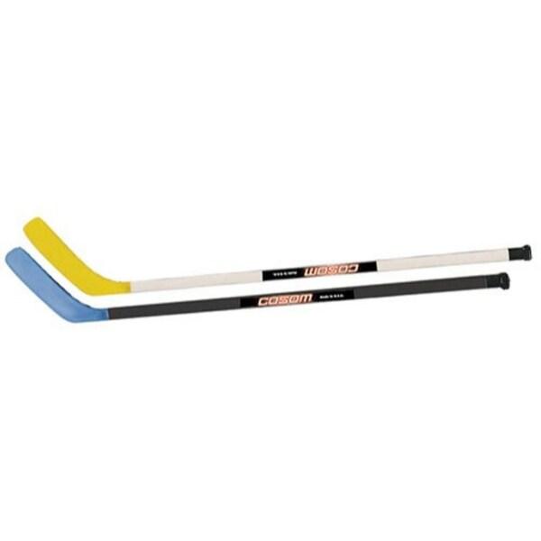 Shop Cosom 47 Hockey Sticks 1 Blue 1 Yellow Ships To Canada