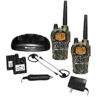Midland Gxt1050Vp4 36-Mile Camo Gmrs Radio Pair Pack With Drop-In Charger & Rechargeable Batteries