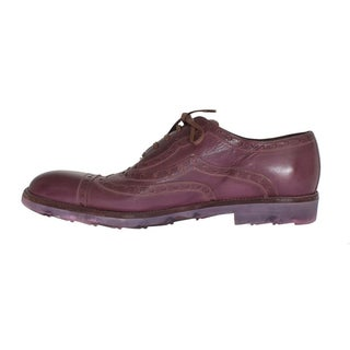 Dolce & Gabbana Pink Leather Formal Shoes - eu44-us11