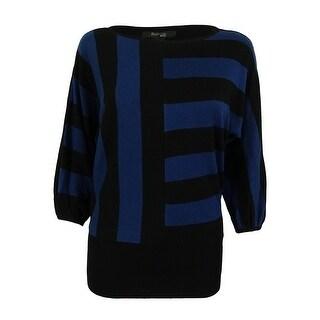 Style & Co. Women's Dolman Sleeve Striped Sweater