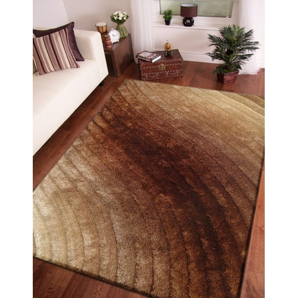 3D Shaggy Hand Tufted Area Rug. Opens flyout.