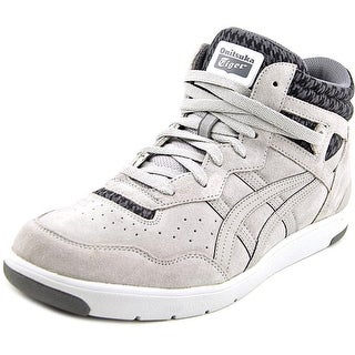 Onitsuka Tiger by Asics Tustin Men Round Toe Suede Gray Sneakers