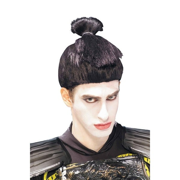 Sumo Wrestler Adult Costume Wig - Black