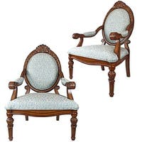 Design Toscano  Victoria Armchair: Set of Two