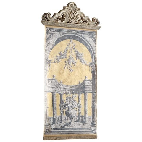 """Cyan Design 09258 Life And Antiquity 61-1/4"""" Tall Cultural Tapestry"""