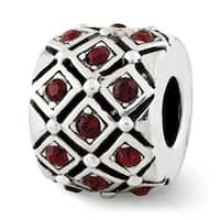 Sterling Silver Reflections June Swarovski Elements Bead (4mm Diameter Hole)