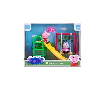 Peppa Pig Playground Fun Playset with Peppa Pig & Suzy Sheep