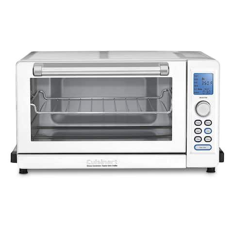 Cuisinart TOB-135WN Toaster Oven, White & Stainless