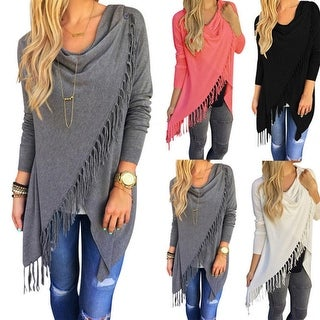 Link to Classic Tassel Slim Sweater Similar Items in Women's Sweaters