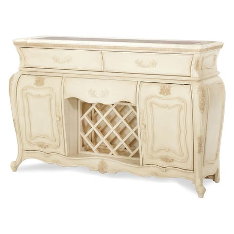 AICO Lavelle Blanc Sideboard with Mirror