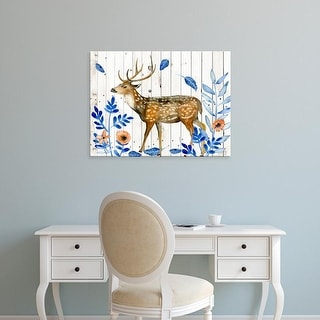 Easy Art Prints Melissa Wang's 'Dear Deer II' Premium Canvas Art