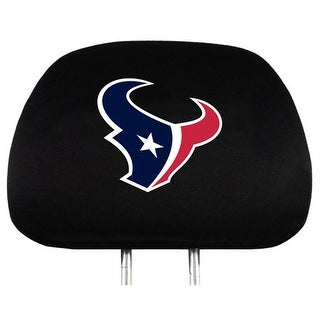 Team Promark Houston Texans Headrest Covers Set Of 2 Headrest Covers