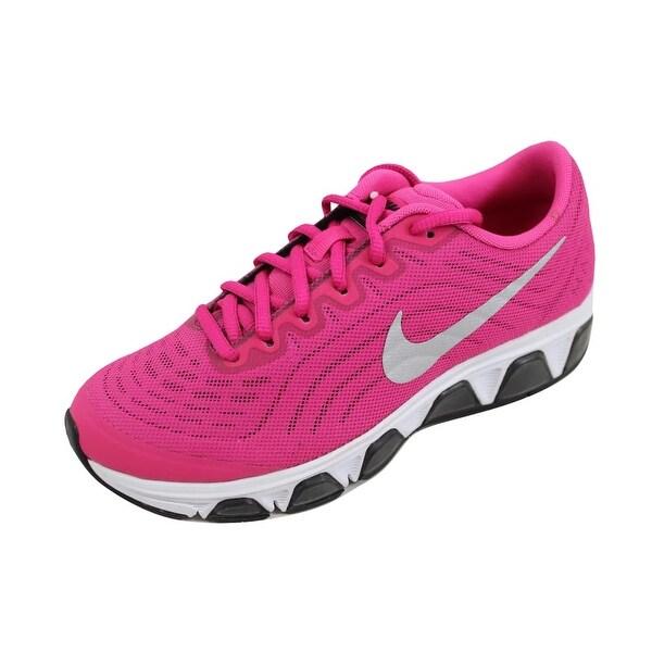 6c962a3ca04 Shop Nike Grade-School Air Max Tailwind 6 Vivid Pink Metallic Silver ...