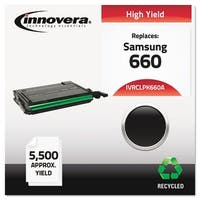 Innovera Remanufactured CLP-660 Toner Cartridge - Black Toner Cartridge