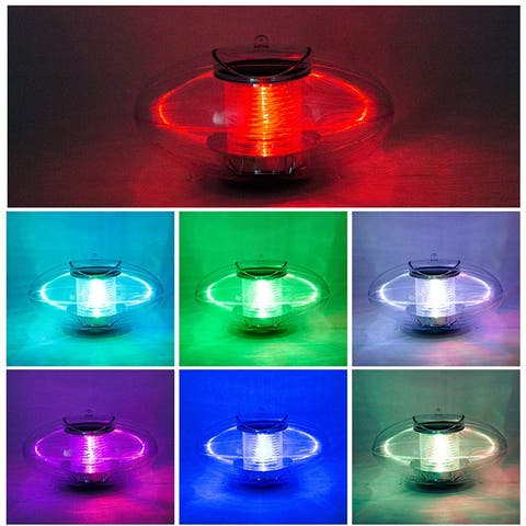 Floating Lights Pond Lights Pool Lights Color Changing Floating Ball Solar Lights Waterproof for Swimming Pool Pond Party