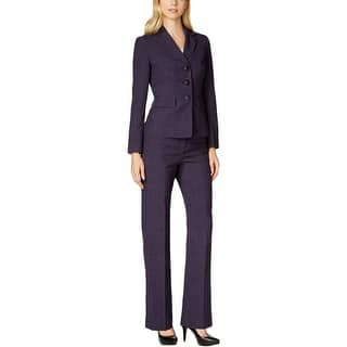 Le Suit Womens Pant Suit Patterned Long Sleeves - 12|https://ak1.ostkcdn.com/images/products/is/images/direct/80e70d7c2b913ede778dd5ad86c20da1875ab2c7/Le-Suit-Womens-Pant-Suit-Patterned-Long-Sleeves.jpg?impolicy=medium