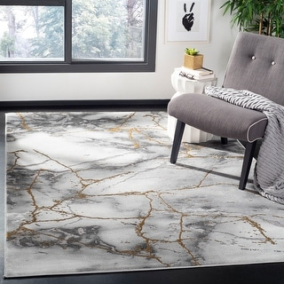 Link to Safavieh Craft Margaretha Modern Abstract Rug Similar Items in Industrial Rugs