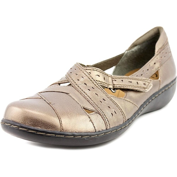 Clarks Narrative Ashland Spin Q Pewter Flats