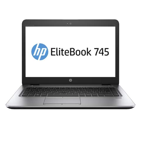 "HP 745 G3 14"" Laptop AMD A10 R6 8GB RAM 256GB SSD Windows 10 Grade B"