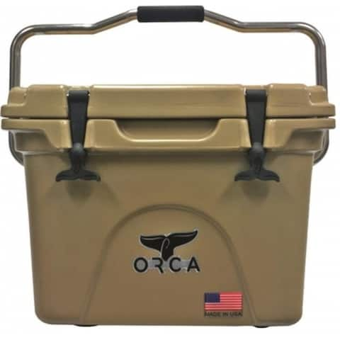 ORCA ORCT020 Insulated Cooler, 20 Quart, Tan