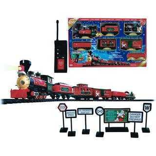 Sterling 90210072 Battery Operated Plastic Train, 36-Piece