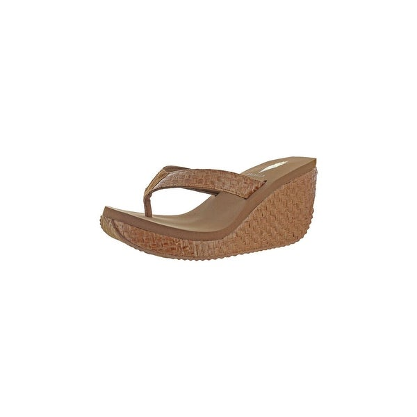7514583ab Shop Volatile Womens Sefton Wedge Sandals Woven Casual - Free ...