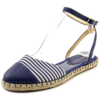 Ivanka Trump Rion Round Toe Leather Espadrille