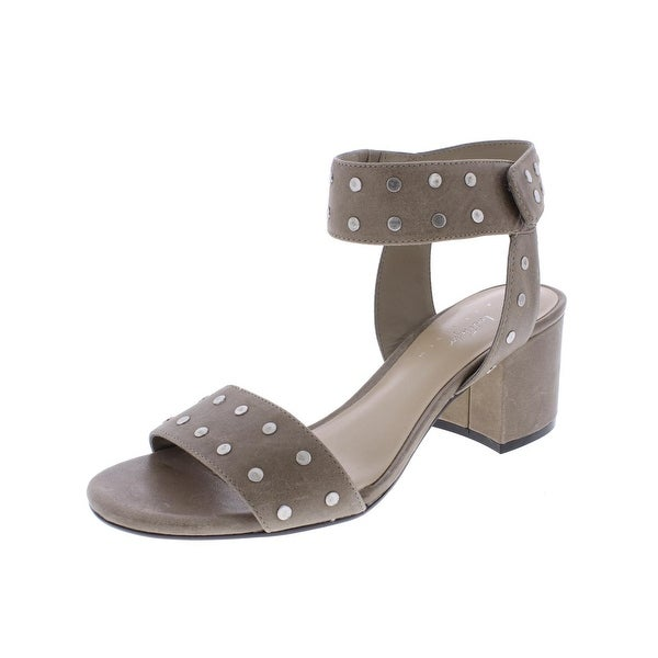 424 Fifth Womens Harrow Strap Sandals Studded Open Toe