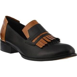 Spring Step Women's Marsha Loafer Black Multi Leather
