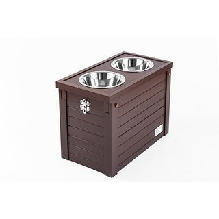 Link to ECOFLEX® Piedmont 2-Bowl Diner with Sliding Lid Storage Bin Similar Items in Dog Feeders & Waterers