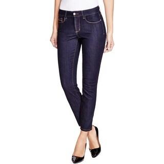 NYDJ Womens Clarissa Ankle Jeans Skinny Slimming Fit