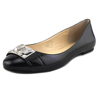 Enzo Angiolini Cupcake Round Toe Patent Leather Flats. Sale