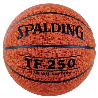 Spalding TF250 Men's Official Basketball, 29-1/2 Inches, Orange