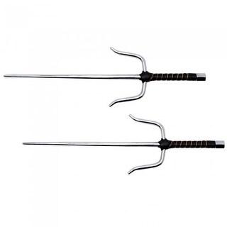 Shadow Cutlery SH7600 Ninja Octagon Sai - Set of 2, Silver