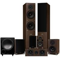 Fluance Elite Series Surround Sound Home Theater 7.1 Channel System - Walnut (SX71WR)