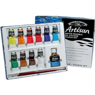 Winsor & Newton 1590252 37ml Artisan Water Mixable Oil Color Paint Set