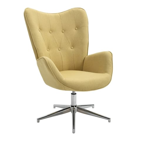 Furniture R Leisure Chair with Round Arm and adjustable height