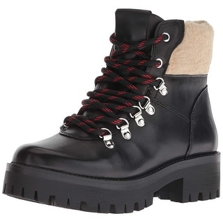 Link to Steve Madden Womens BROA01S1 Leather Round Toe Ankle Fashion Boots Similar Items in Women's Shoes