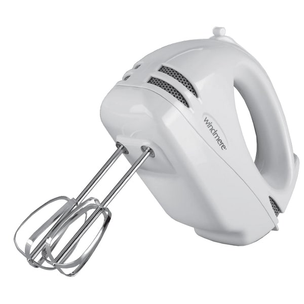 Windmere 5 Speed White 100 Watt Hand Mixer