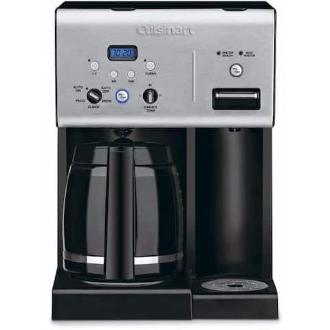 Cuisinart Coffee Plus 12 Cup Programmable Coffee Maker (Renewed)